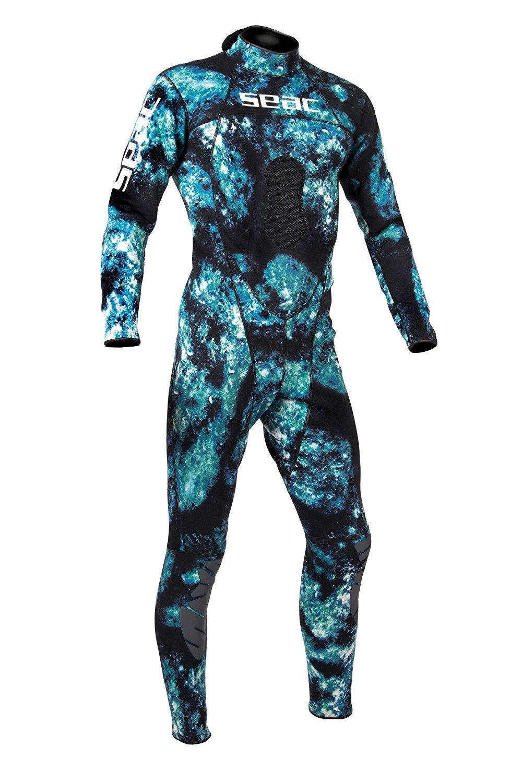 Seac Apnea Wetsuit Pants Python Plus Black 5mm