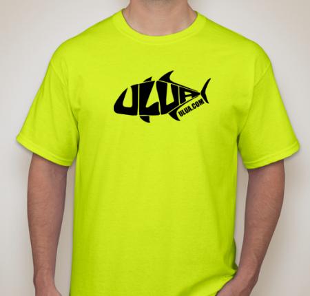 4e63a0d6ac7 ULUA - Fishing And Diving - Official ULUA T-Shirt (black) - ULUA.COM